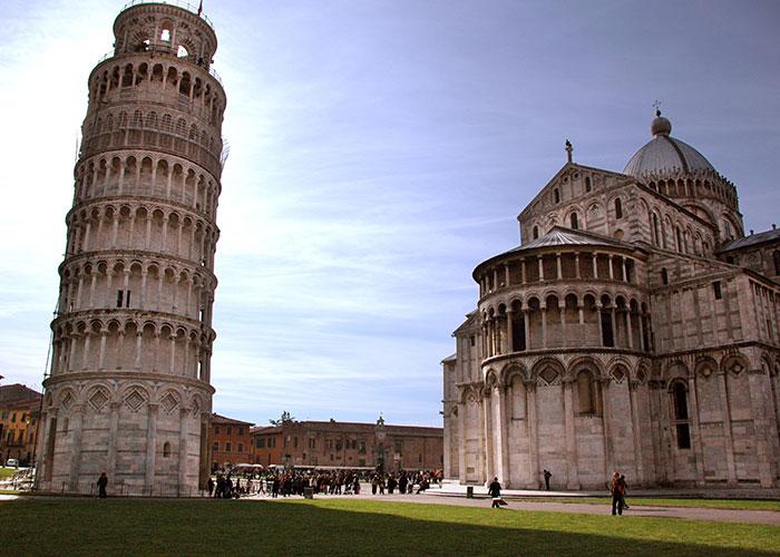 Trekking urbano Pisa