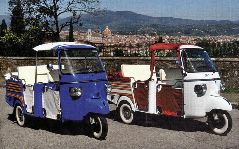 Le colline di Firenze in tuk tuk